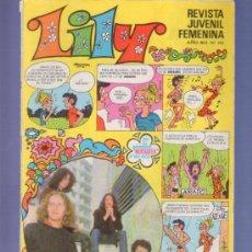 Tebeos: LILY REVISTA JUVENIL FEMENINA Nº 510- AÑO 1972. EDITORIAL BRUGUERA. EN EL INTERIOR MORDATELOS A GOGO. Lote 37780645
