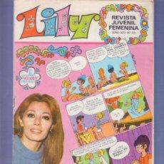 Tebeos: LILY REVISTA JUVENIL FEMENINA Nº 512- AÑO 1972. EDITORIAL BRUGUERA. EN EL INTERIOR MORDATELOS A GOGO. Lote 37780657
