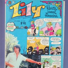 Tebeos: LILY REVISTA JUVENIL FEMENINA Nº 565 - AÑO 1972. EDITORIAL BRUGUERA. POSTER MULTIPLE CENTRAL. Lote 37780710