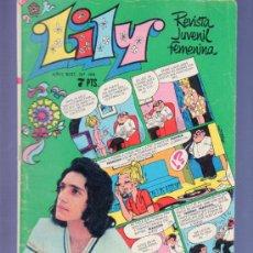 Tebeos: LILY REVISTA JUVENIL FEMENINA Nº 566 - AÑO 1972. EDITORIAL BRUGUERA. POSTER MULTIPLE CENTRAL. Lote 37780716