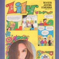 Tebeos: LILY REVISTA JUVENIL FEMENINA Nº 447 - AÑO 1970. EDITORIAL BRUGUERA. SELLOS PARA UN SOTEO DE SEAT. Lote 37780761