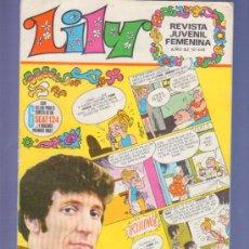 Tebeos: LILY REVISTA JUVENIL FEMENINA Nº 448 - AÑO 1970. EDITORIAL BRUGUERA. SELLOS PARA UN SOTEO DE SEAT. Lote 37780781