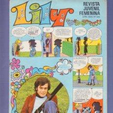 Tebeos: LILY REVISTA JUVENIL FEMENINA Nº 532- AÑO 1972. EDITORIAL BRUGUERA. EN EL INTERIOR MORTADELOS A GOGO. Lote 37791871