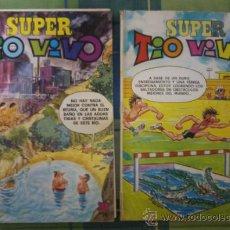 Tebeos: SUPER TIO VIVO NUMEROS 65-73.. Lote 37815535