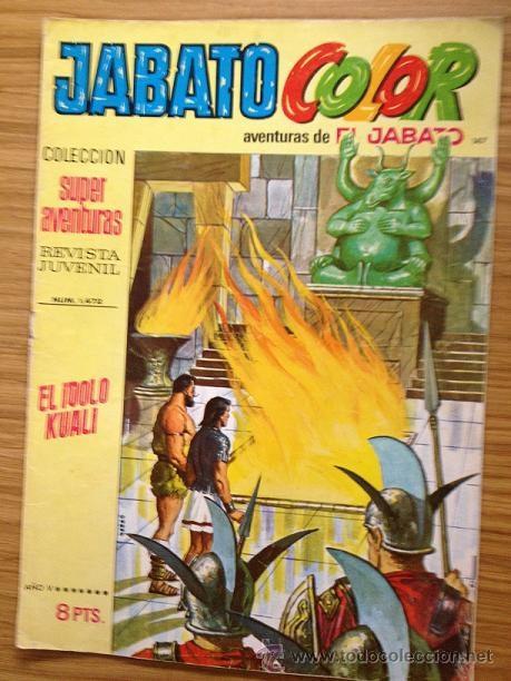JABATO COLOR EL ÍDOLO KUALI Nº 1472 AÑO V (Tebeos y Comics - Bruguera - Jabato)