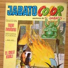 Tebeos: JABATO COLOR EL ÍDOLO KUALI Nº 1472 AÑO V. Lote 37846100