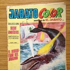 Tebeos: JABATO COLOR EL MONSTRUO DEL ABISMO Nº 1450 AÑO V. Lote 37846146