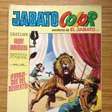 Tebeos: JABATO COLOR FORAJIDOS DEL DESIERTO Nº 1458 AÑO V. Lote 37846258