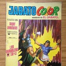 Tebeos: JABATO COLOR LAS ANDANZAS DE TAI-LI Nº 1370 AÑO III. Lote 37846342