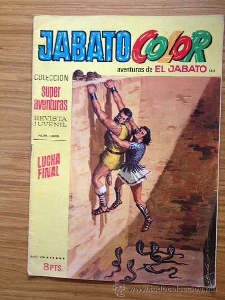 JABATO COLOR LUCHA FINAL Nº 1508 AÑO VI (Tebeos y Comics - Bruguera - Jabato)