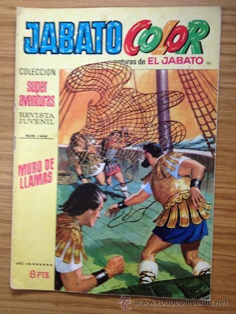 JABATO COLOR MURO DE LLAMAS Nº 1402 AÑO IV (Tebeos y Comics - Bruguera - Jabato)