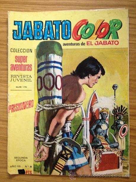 JABATO COLOR PRISIONERO Nº 1196 SEGUNDA ÉPOCA AÑO VII (Tebeos y Comics - Bruguera - Jabato)