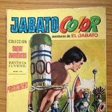 Tebeos: JABATO COLOR PRISIONERO Nº 1196 SEGUNDA ÉPOCA AÑO VII. Lote 37846475