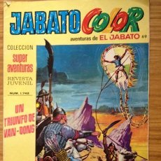 Tebeos: JABATO COLOR UN TRIUNFO DE BANG-DONG SEGUNDA ÉPOCA AÑO VIII. Lote 37846507