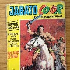 Tebeos: JABATO COLOR EXTRA EXCLAVOS DE ROMA Nº 1 TERCERA ÉPOCA 1978 AÑO X. Lote 37846611