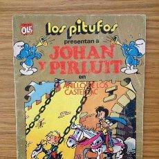 Tebeos: LOS PITUFOS / JOHAN Y PIRLUIT - EL ANILLO DE LOS CASTELLAC EDITORIAL BRUGUERA 1982 - OLÉ Nº 15. Lote 37849660