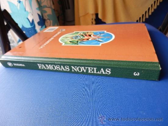 Tebeos: FAMOSAS NOVELAS TOMO Num. 3 - BRUGUERA 1986 - Foto 3 - 40485336