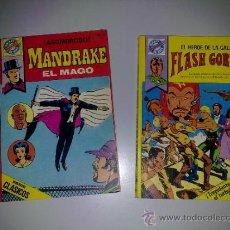Tebeos: PACK POCKET DE ASES BRUGUERA. NºS 33 Y 34. MANDRAKE Y FLASH GORDON. Lote 37867016