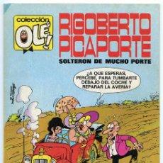 Tebeos: COLECCIÓN OLÉ! - RIGOBERTO PICAPORTE - ED. BRUGUERA - Nº 7 - 5ª EDICIÓN - 1984. Lote 37890527