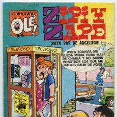 Tebeos: COLECCIÓN OLÉ! - ZIPI Y ZAPE - ED. BRUGUERA - Nº 125 - 4ª EDICIÓN - 1984. Lote 279507568