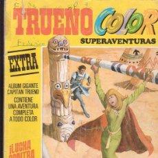 Tebeos: CAPITAN TRUENO COLOR EXTRA SUPERAVENTURAS Nº 9 SEGUNDA EPOCA -EDITA - BRUGUERA. Lote 38183409