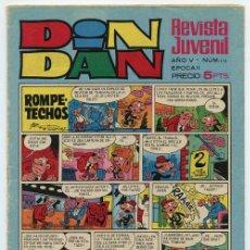 Tebeos: DIN DAN - EPOCA II - Nº 112 - ED. BRUGUERA - 1970 (CON EL DEMONIO DEL CARIBE). Lote 38192044