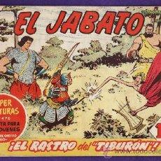 Tebeos: COMIC - EL JABATO - Nº 148 - EL RASTRO DEL TIBURON - ED. BRUGUERA - AÑO 1961. Lote 38197766