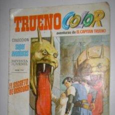 Tebeos: EL CAPITAN TRUENO EL SECRETO DE BAROGAR AÑO 1969 Nº35. Lote 38276918