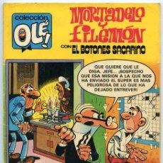 Tebeos: COLECCIÓN OLÉ! - MORTADELO Y FILEMÓN - ED. BRUGUERA - Nº 226 - 1ª EDICIÓN - 1981. Lote 38227869