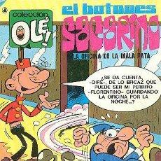 Giornalini: COLECCION OLE BRUGUERA Nº 62 - EL BOTONES SACARINO - 1ª EDICION CON EL NUMERO 62 EN EL CANTO. Lote 38955382