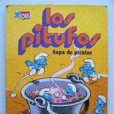 Tebeos: COLECCION OLE 10 - LOS PITUFOS - SOPA DE PITUFOS - PRIMERA 1ª EDICIÓN 1980 COMIC EDITORIAL BRUGUERA. Lote 38259732