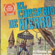 Tebeos: EL CORSARIO DE HIERRO. SERIE ROJA Nº 6. 2ª EDICIÓN 1980.. Lote 38267203