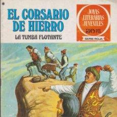 Tebeos: EL CORSARIO DE HIERRO. SERIE ROJA Nº 16. 1ª EDICIÓN 1978.. Lote 38269487