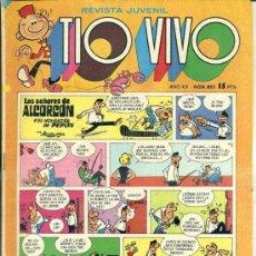 Livros de Banda Desenhada: TIO VIVO Nº 857. Lote 38271118