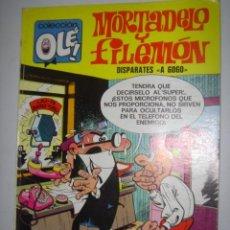 Tebeos: MORTADELO Y FILEMON DISPARATES A GOGO AÑO1975 Nº20. Lote 38325141