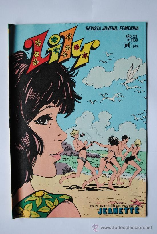 LILY, Nº 1130 EDITORIAL BRUGUERA (Tebeos y Comics - Bruguera - Lily)