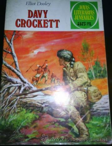 DAVY CROCKETT (Tebeos y Comics - Bruguera - Joyas Literarias)