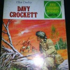 Tebeos: DAVY CROCKETT. Lote 38386582