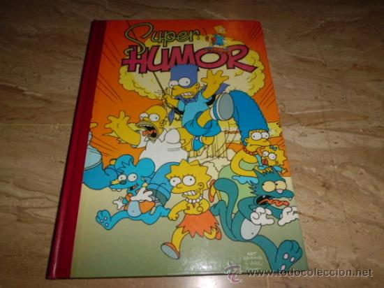 SUPER HUMOR SIMPSONS Nº 1 EXCELENTE ESTADO (Tebeos y Comics - Bruguera - Super Humor)