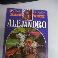 Giornalini: ALEJANDRO - SERIE HISTORIA / COMIC BIOGRAFIAS - EDITORIAL BRUGUERA 1984. Lote 38433911