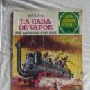 Tebeos: JOYAS LITERARIAS - LA CASA DE VAPOR DE JULIO VERNE Nº 134. Lote 38435440