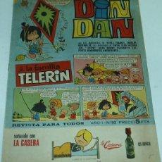 Tebeos: DIN DAN CON TELERIN Nº 50 - ORIGINAL EN. Lote 38441479