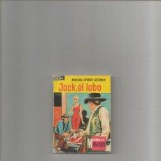 Tebeos: JACK , EL LOBO.Nº1.MARCIAL LAFUENTE ESTEFANIA. MINI LIBROS BRUGUERA OESTE. Lote 38527135