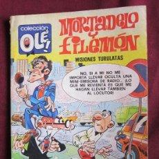 Tebeos: MORTADELO Y FILEMON Nº144. COLECCIÓN OLÉ!. 3ª EDICIÓN 1982 BRUGUERA. Lote 38520194