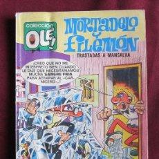 Tebeos: MORTADELO Y FILEMON Nº 140 - M 10. COLECCIÓN OLÉ!. 5ª ED, 1987 BRUGUERA-EDICIONES B.. Lote 38520404