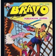 BDs: EL CACHORRO COLECCIÓN BRAVO Nº 32 EDITORIAL BRUGUERA SA 1976 B/N GRAPA 20 PAG. . Lote 38527390