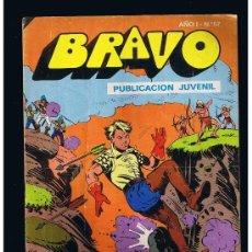 BDs: EL CACHORRO COLECCIÓN BRAVO Nº 29 EDITORIAL BRUGUERA SA 1976 B/N GRAPA 20 PAG. . Lote 38527399