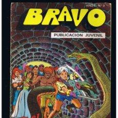 BDs: EL CACHORRO COLECCIÓN BRAVO Nº 2 EDITORIAL BRUGUERA SA 1976 B/N GRAPA 20 PAG. . Lote 38527535