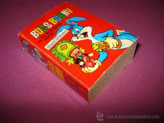 BUGS BUNNY EN EL MISTERIO INCA DE LA COLECCIÓN MINI INFANCIA DE BRUGUERA Nº 9 1ª EDICIÓN DE 1968 (Tebeos y Comics - Bruguera - Otros)
