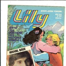 Tebeos: C62 REVISTA LILY 982 POSTER WILLIE AAMES POSTER MIGUEL BOSE. Lote 38726503